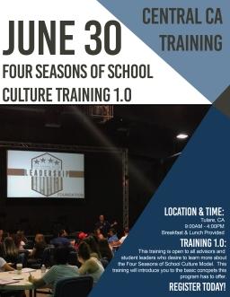 Training Flyer_ Tulare_Summer_2018