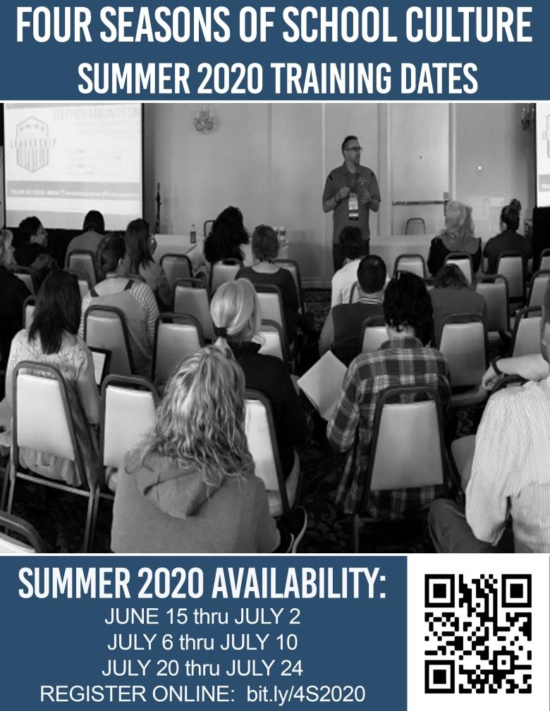 Training Flyer_Summer_2020